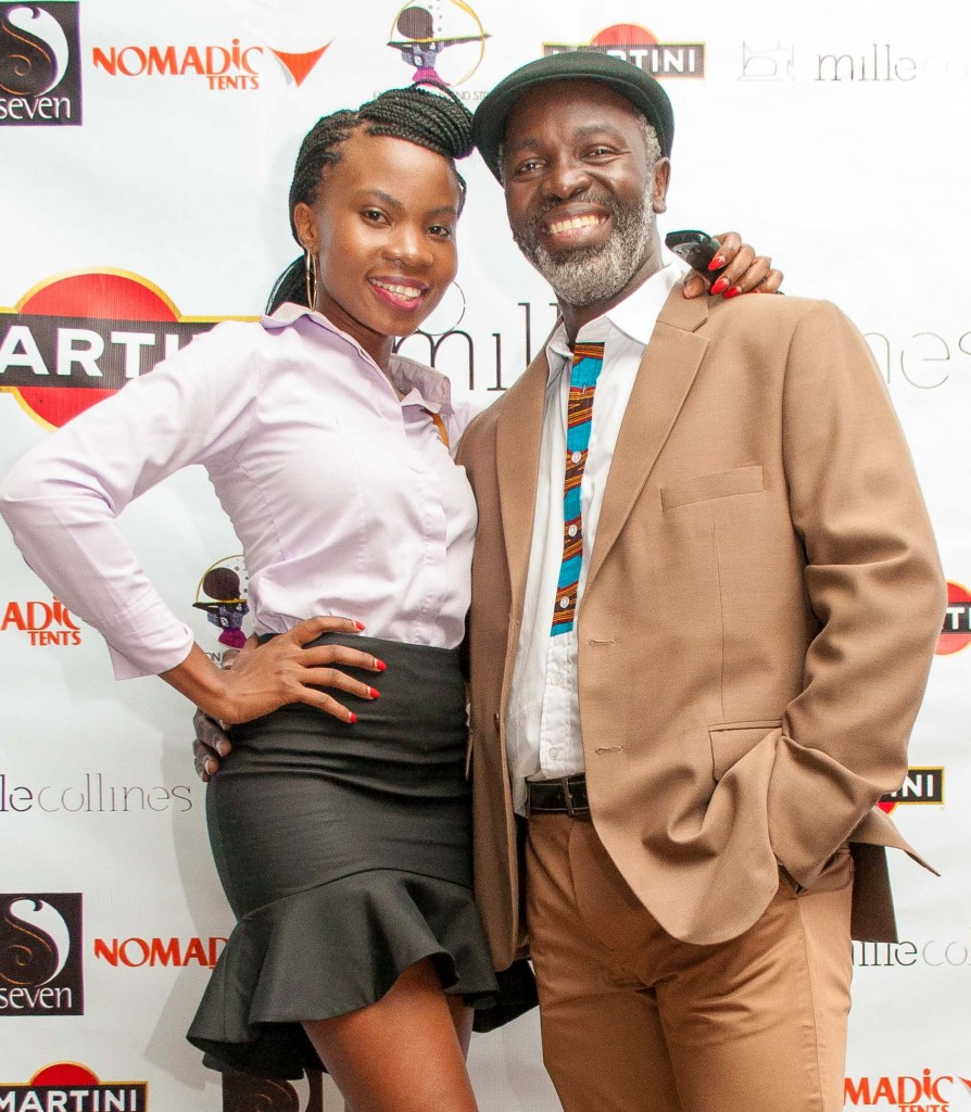 One of the fashionable gentlemen from the event and I