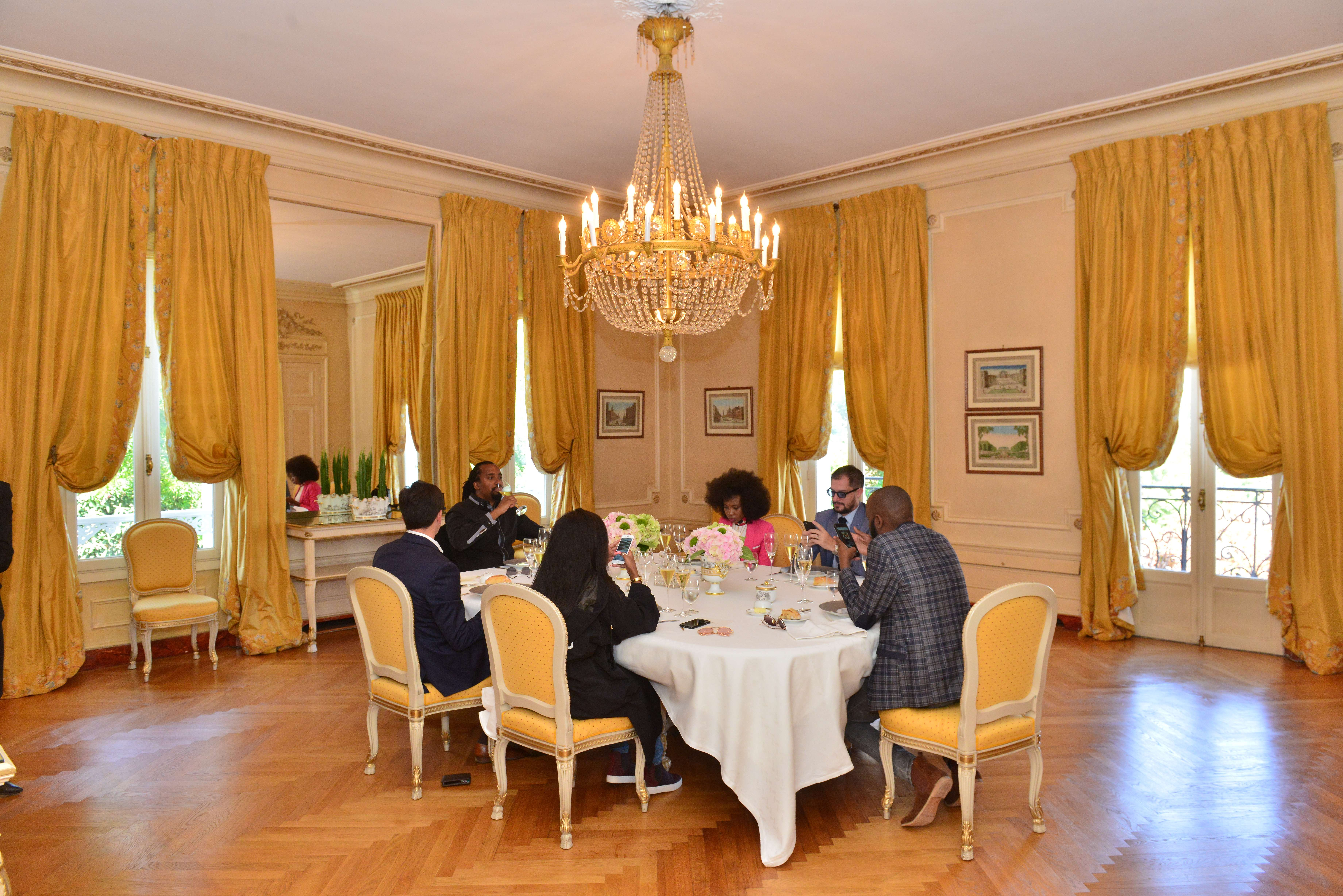 Lunch at the Chateau